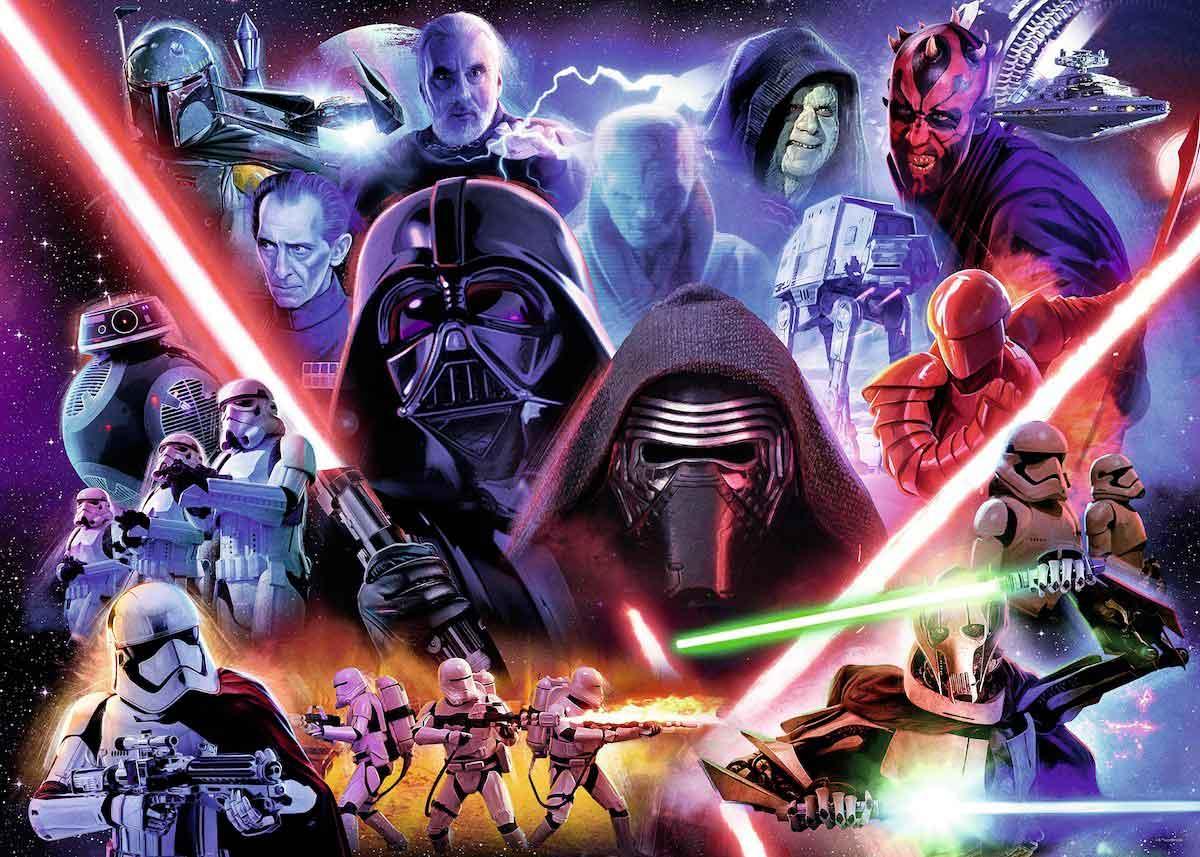 Puzzle Ravensburger Star Wars Villanos de 1000 Piezas