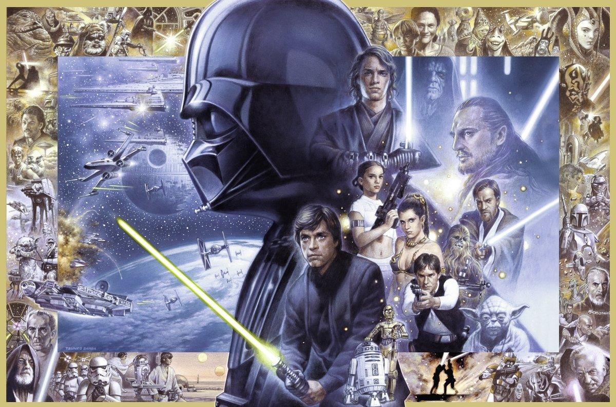 Puzzle Ravensburger Star Wars XXL de 5000 Piezas