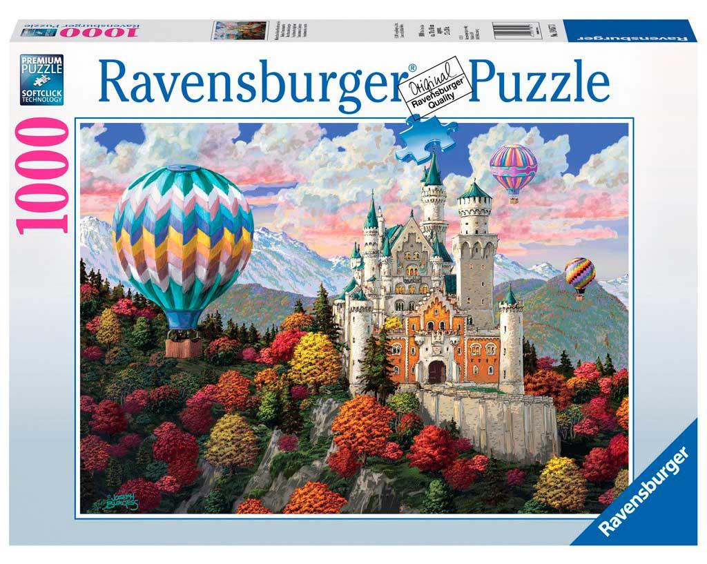 Puzzle Ravensburger Sueños de Neuschwanstein de 1000 Piezas