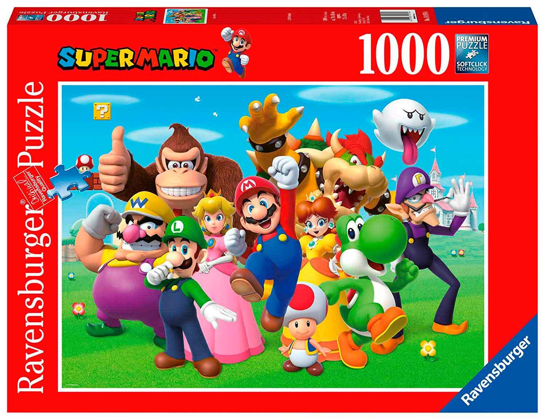 Puzzle Ravensburger Super Mario Bros. 1000 Piezas