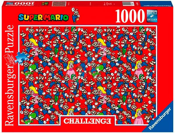 Puzzle Ravensburger Super Mario Bros Challenge de 1000 Piezas