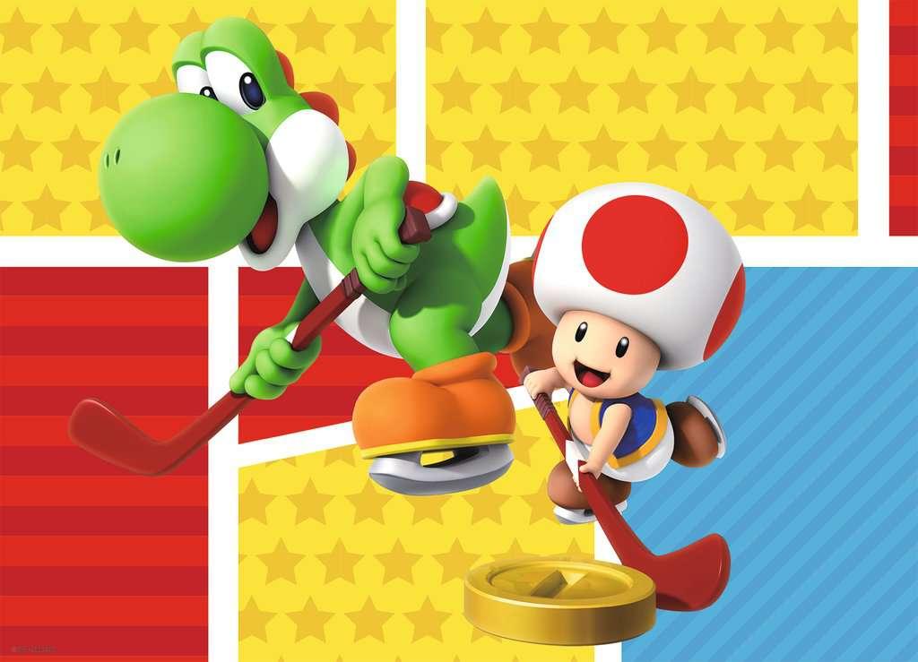 Puzzle Ravensburger Super Mario de 4 x 100 Piezas