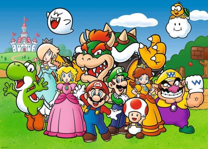 Puzzle Ravensburger Super Mario Kids XXL de 100 Piezas