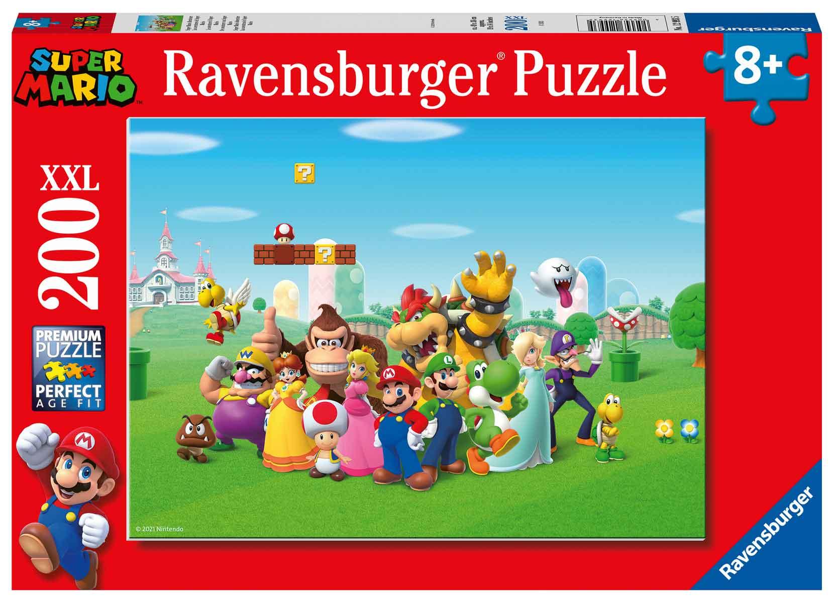 Puzzle Ravensburger Super Mario XXL de 200 Piezas