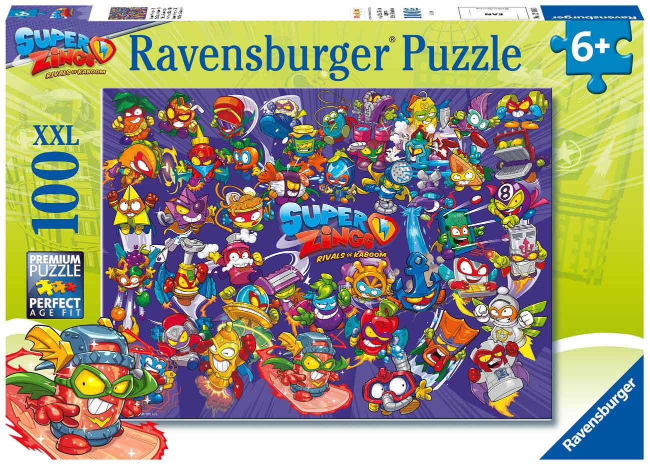 Puzzle Ravensburger SuperZings XXL de 100 Piezas