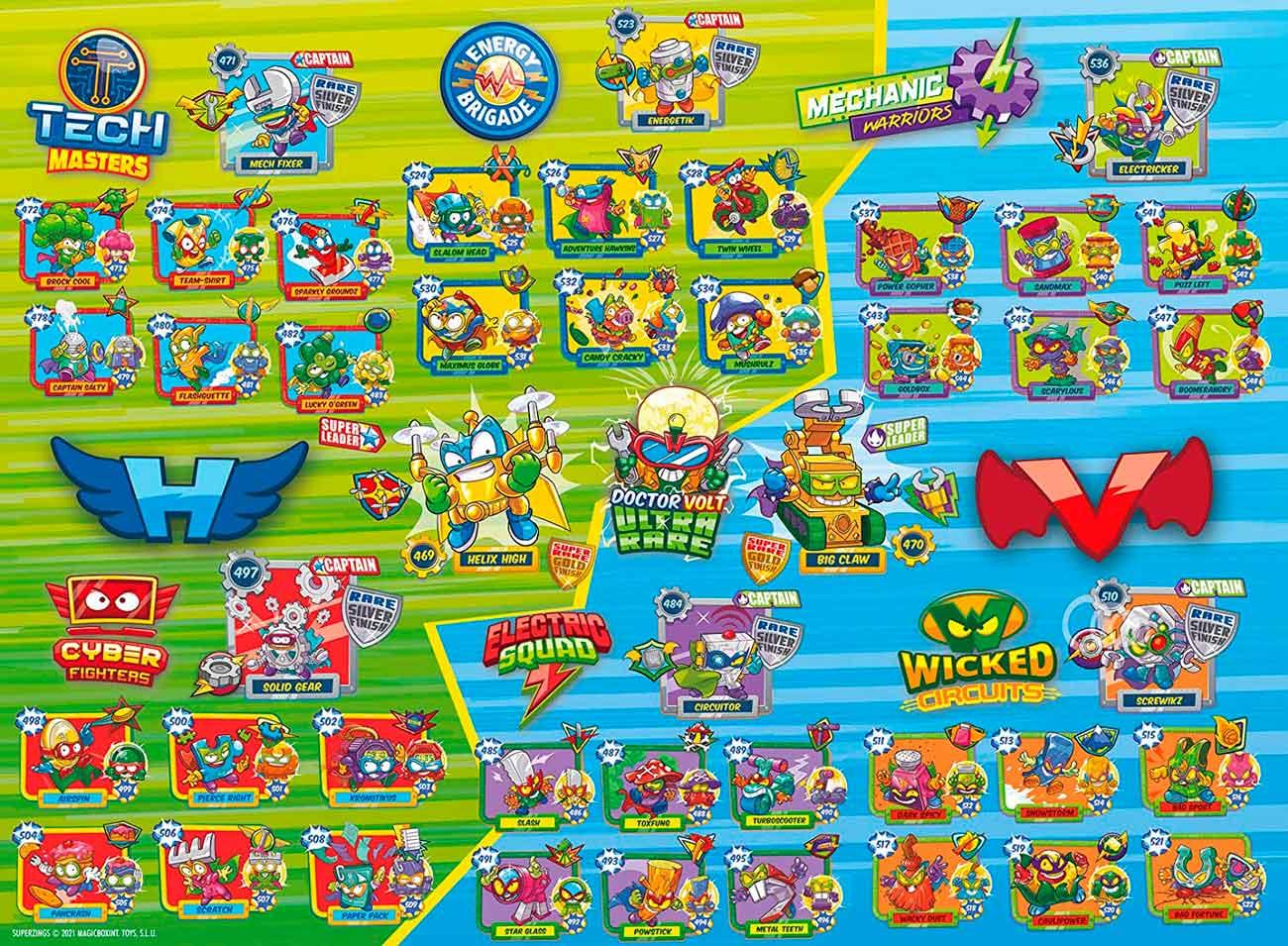 Puzzle Ravensburger Super Zings XXL de 100 Piezas