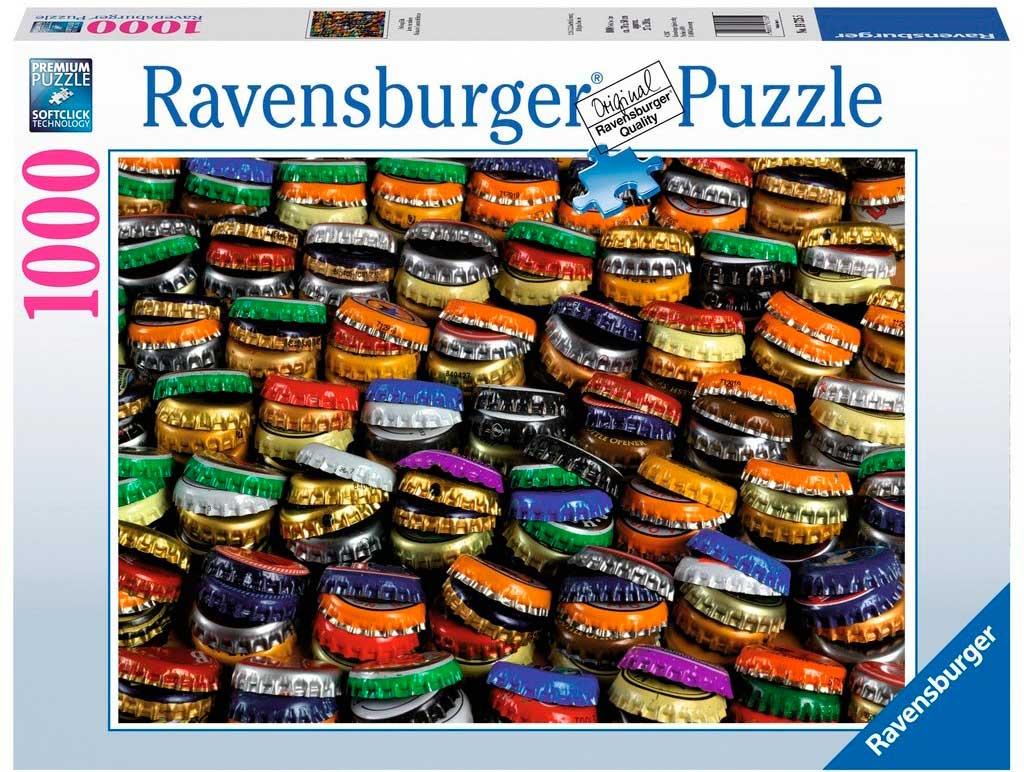 Puzzle Ravensburger Tapones de Botellas de 1000 Piezas