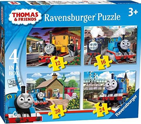Puzzle Ravensburger Thomas y sus Amigos 12+16+20+24 Piezas