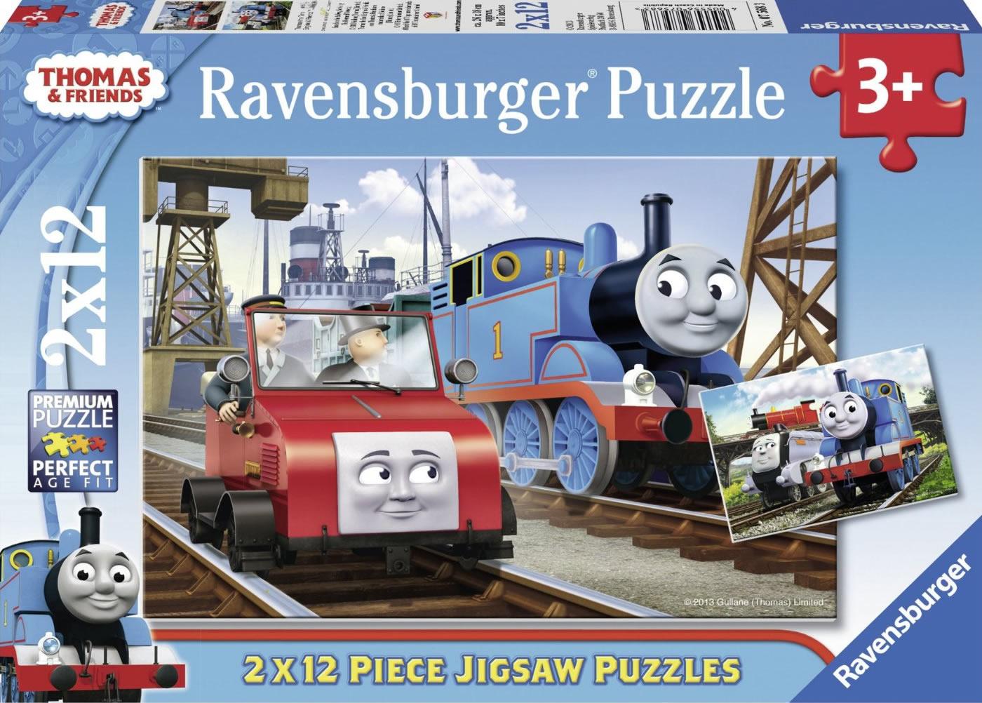 Puzzle Ravensburger Thomas y sus Amigos de 2x12 Piezas