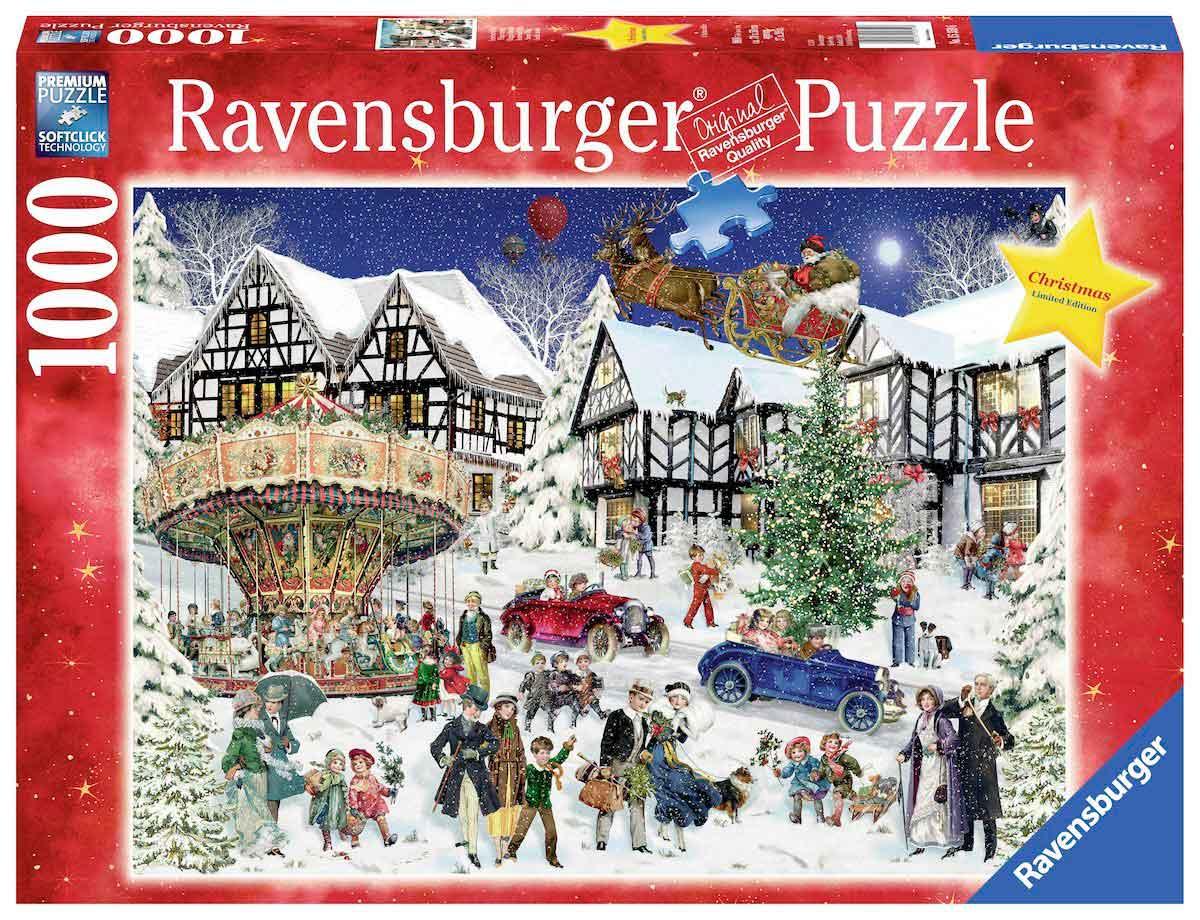 Puzzle Ravensburger Tiempo de Navidad de 1000 Piezas