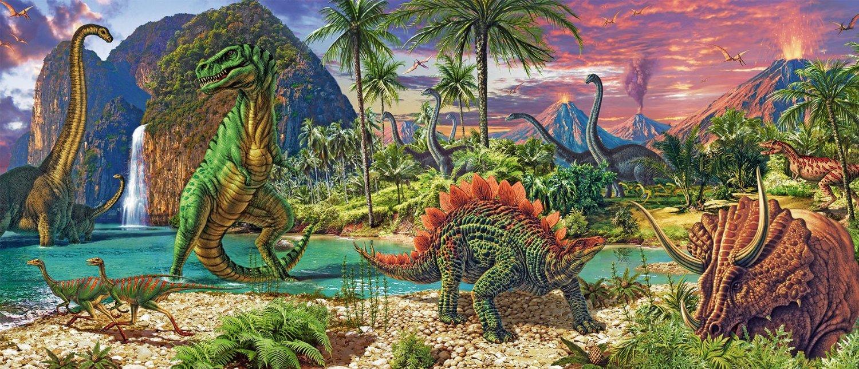 Puzzle Ravensburger Tierra de Dinosaurios de 200 Piezas
