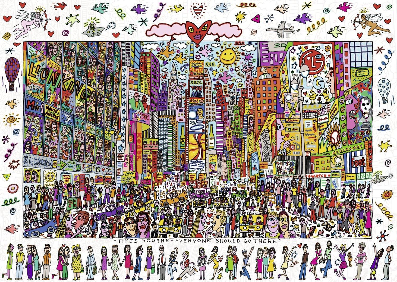 Puzzle Ravensburger Times Square de 1000 Piezas
