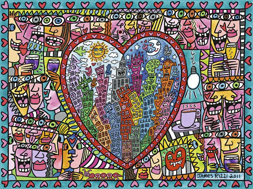 Puzzle Ravensburger Todo esto es Amor de 1500 Piezas