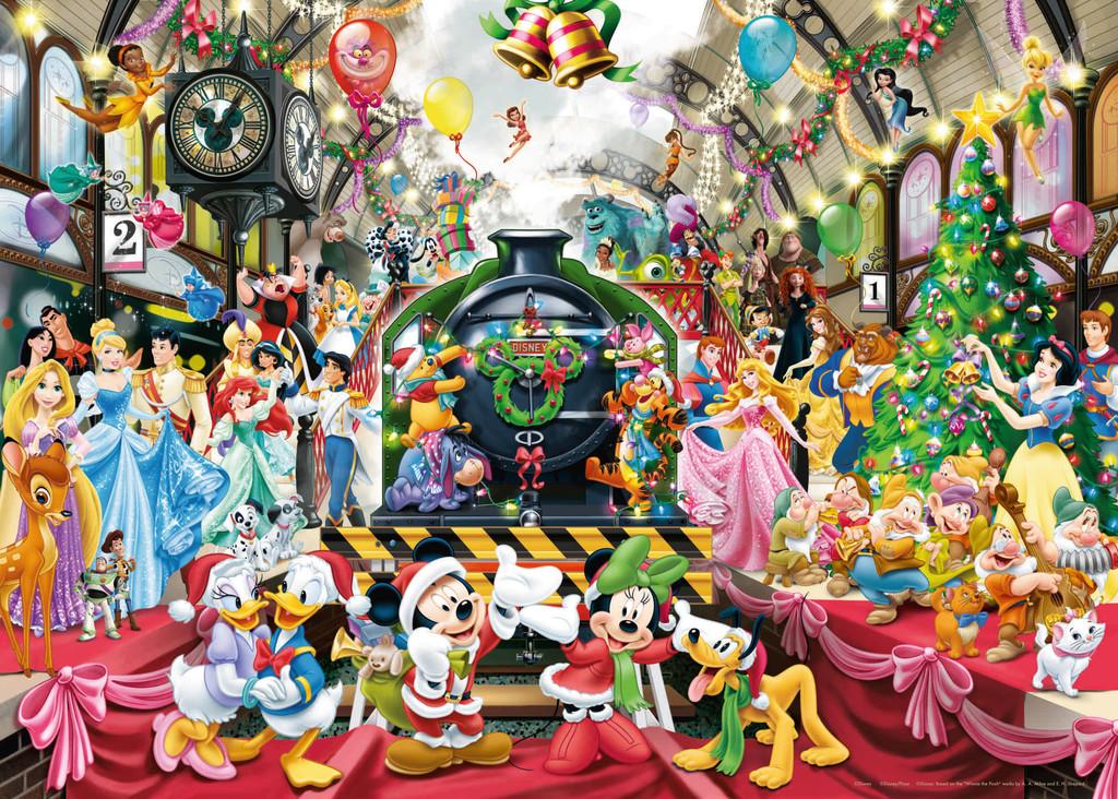 Puzzle Ravensburger Todos a Bordo, Navidad Disney de 1000 Piezas