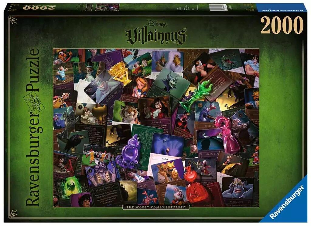 Puzzle Ravensburger Todos los Villanos Disney de 2000 Piezas