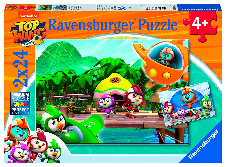 Puzzle Ravensburger Top Wing de 2x24 Piezas