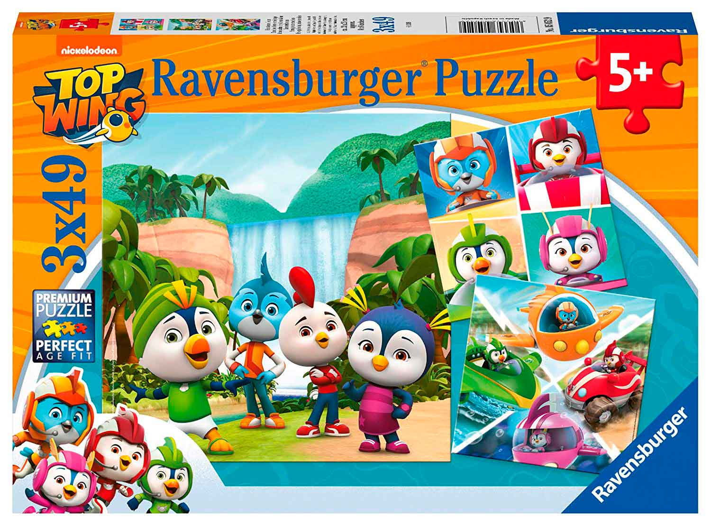 Puzzle Ravensburger Top Wing de 3x49 Piezas