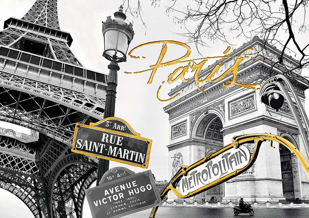 Puzzle Ravensburger Toque de Oro en París (Detalles Dorados) 120