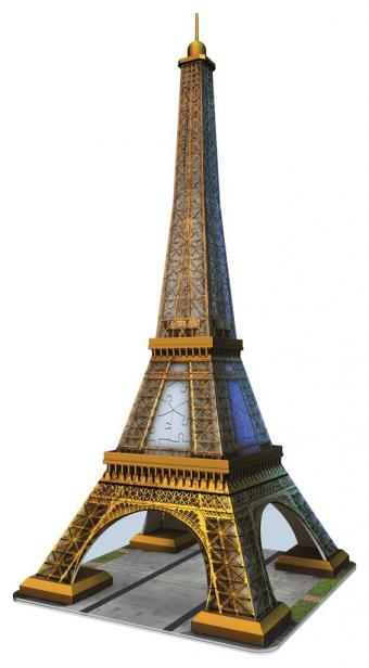 Puzzle Ravensburger Torre Eiffel 3D 3D 216 Piezas