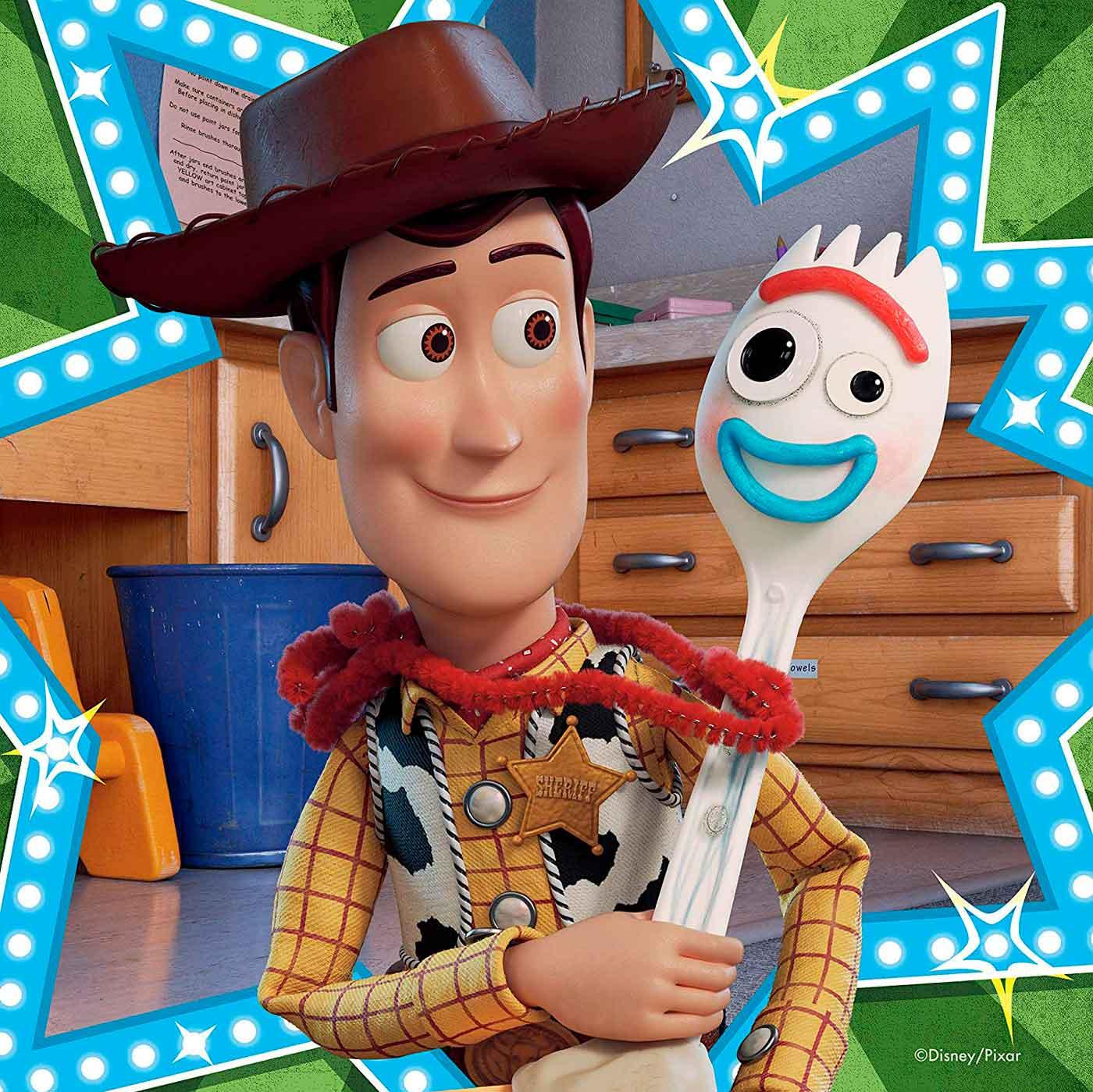 Puzzle Ravensburger Toy Story 4 de 3x49 Piezas