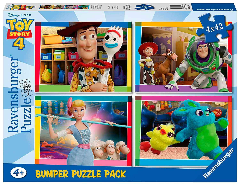 Puzzle Ravensburger Toy Story 4 de 4x42 Pzs