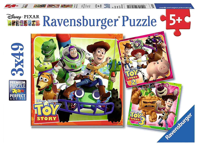 Puzzle Ravensburger Toy Story de 3x49 Piezas