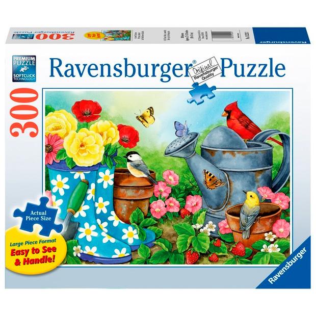 Puzzle Ravensburger Tradiciones de Jardín de 300 Piezas