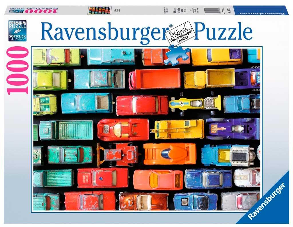 Puzzle Ravensburger Tráfico Organizado de 1000 Piezas