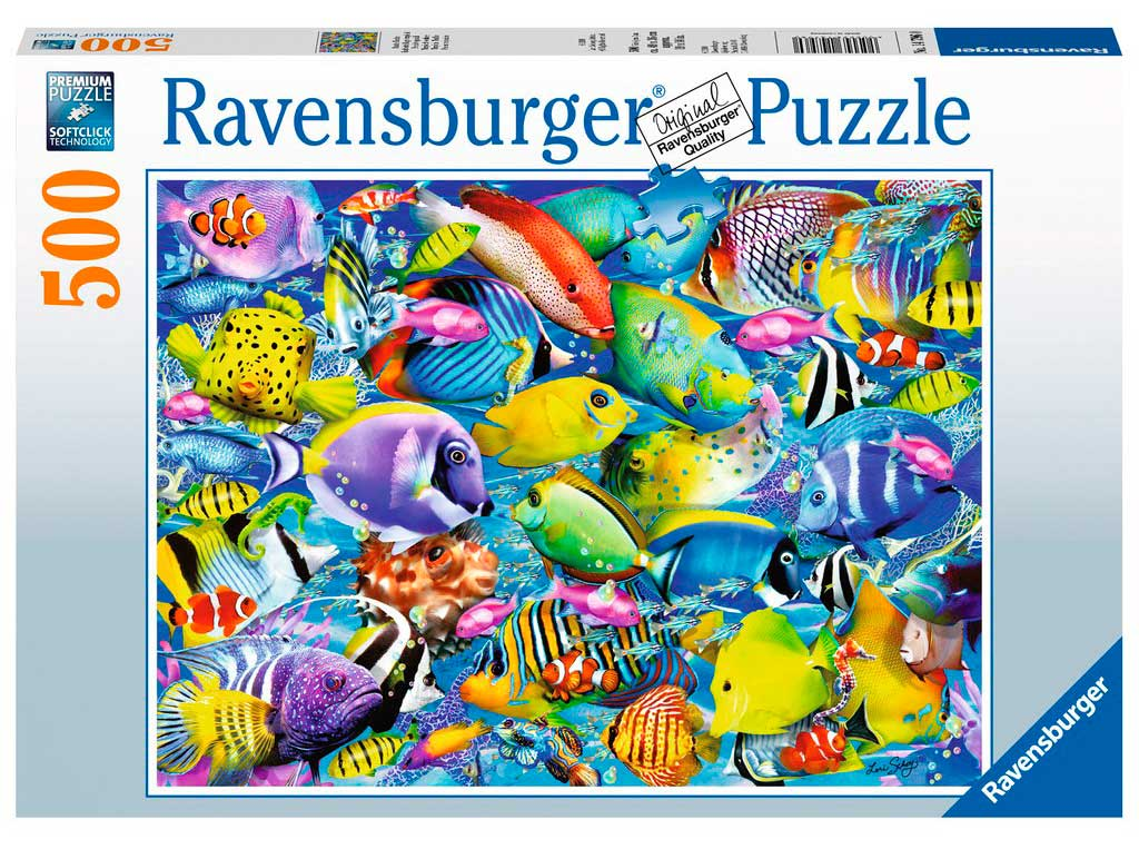 Puzzle Ravensburger Tráfico Tropical 500 Piezas