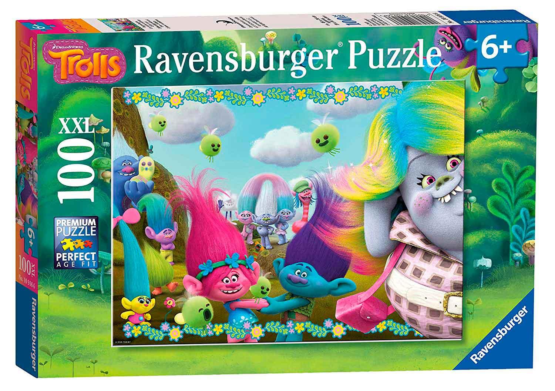 Puzzle Ravensburger Trolls XXL de 100 Piezas
