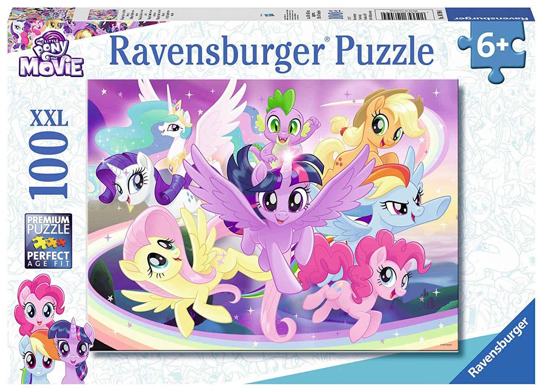 Puzzle Ravensburger Twilight Sparkle y sus Amigos XXL de 100 Pzs