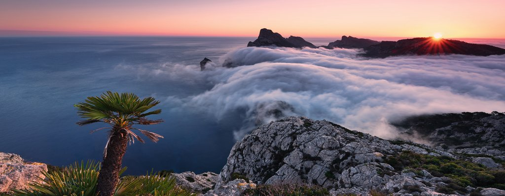 Puzzle Ravensburger Un Mar de Nubes de 1000 Pieza
