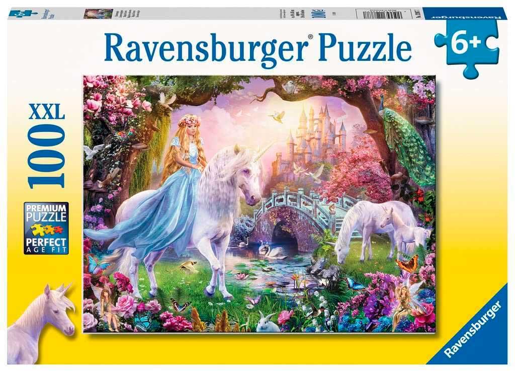 Puzzle Ravensburger Unicornio Mágico XXL de 100 Piezas