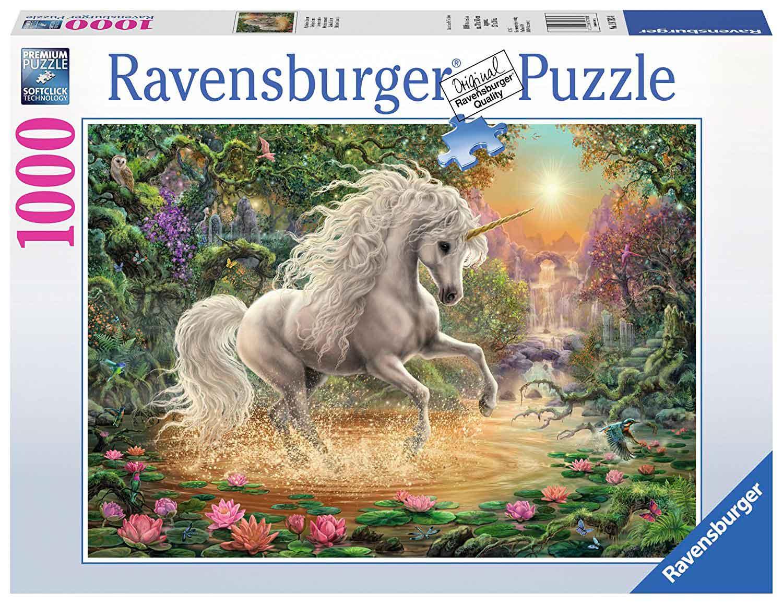 Puzzle Ravensburger Unicornio Místico de 1000 Piezas
