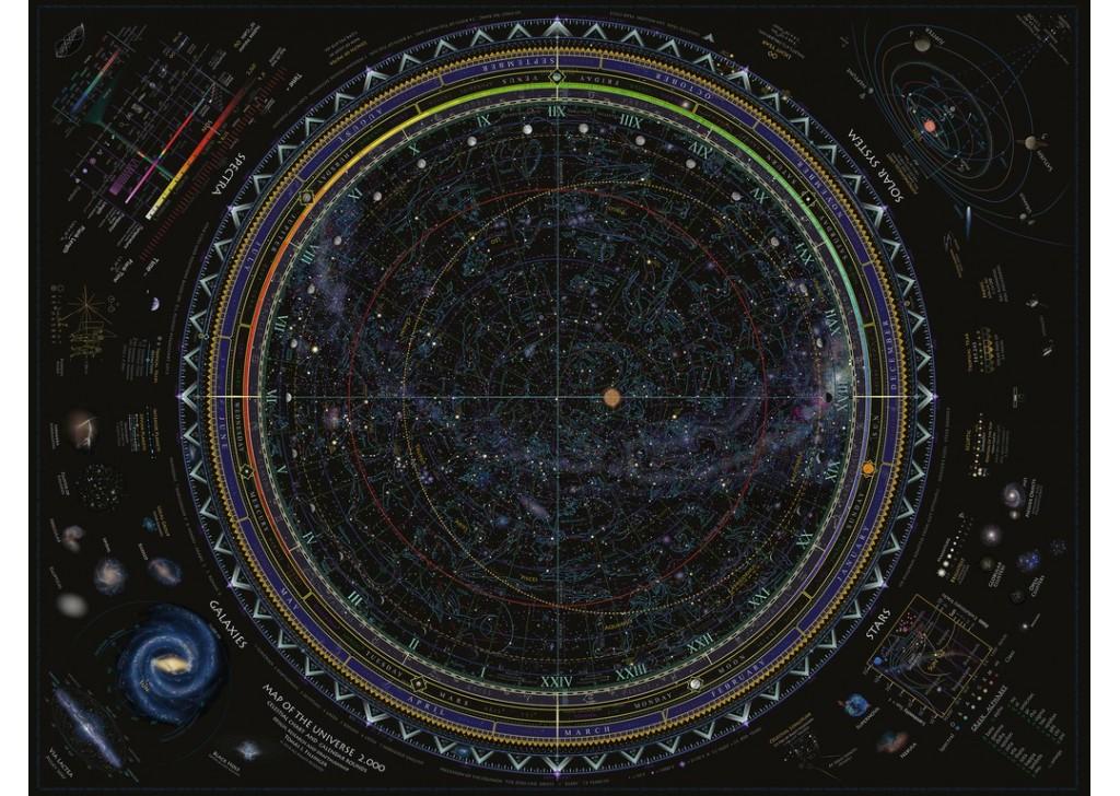 Puzzle Ravensburger Universo de 1500 Piezas