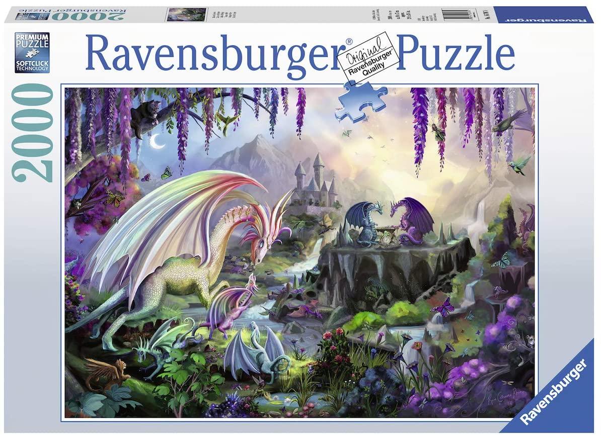 Puzzle Ravensburger Valle del Dragón de 2000 Piezas