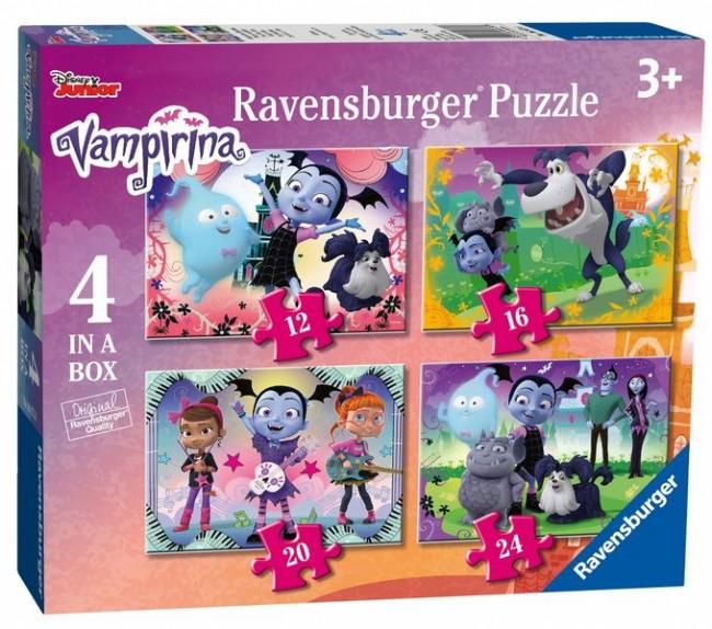 Puzzle Ravensburger Vampirina, Progresivo de 12+16+20+24 Pzs