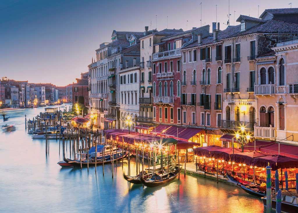 Puzzle Ravensburger Venecia, Italia de 1000 Piezas