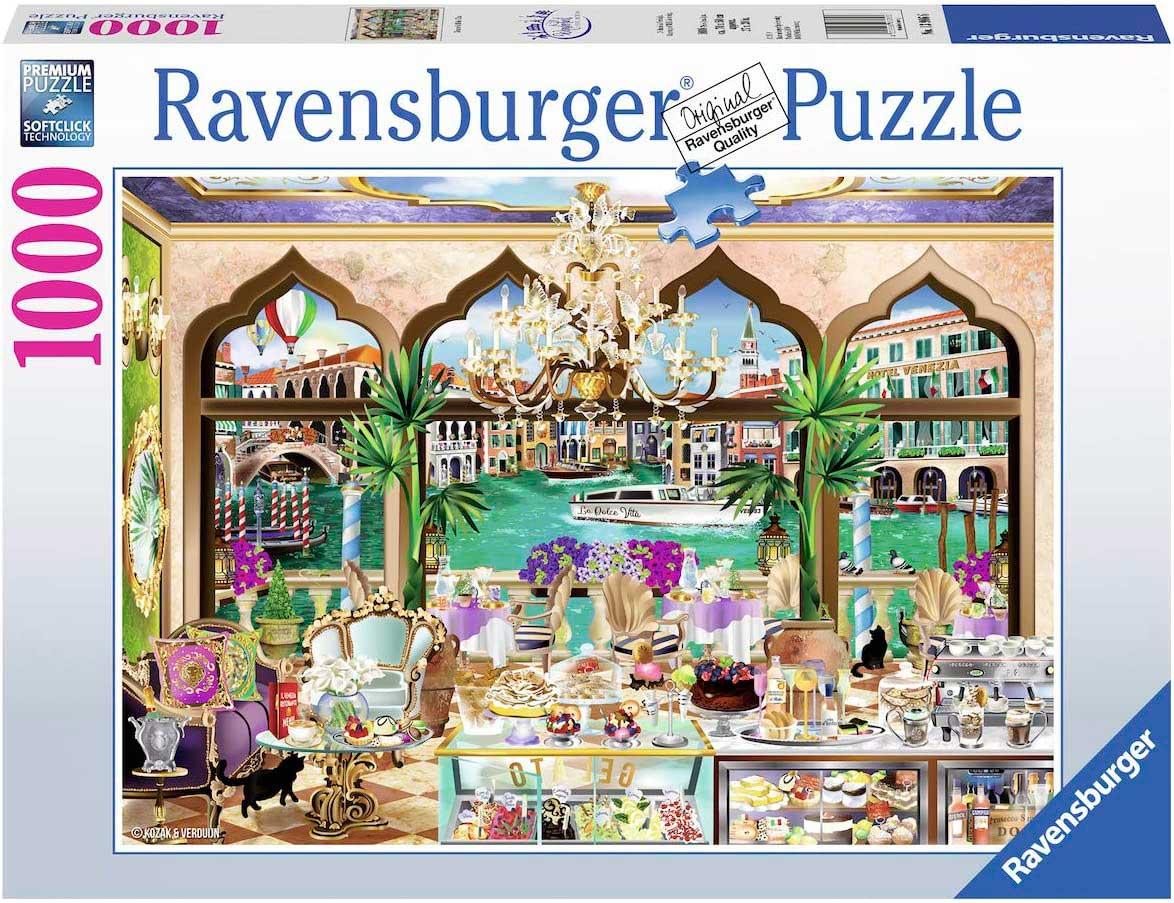 Puzzle Ravensburger Venecia La Dolce Vita de 1000 Piezas