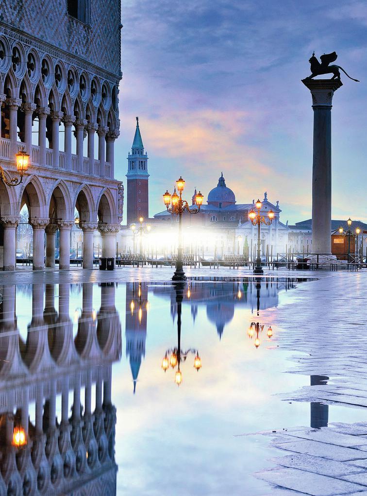 Puzzle Ravensburger Venecia Romántica de 1500 Piezas