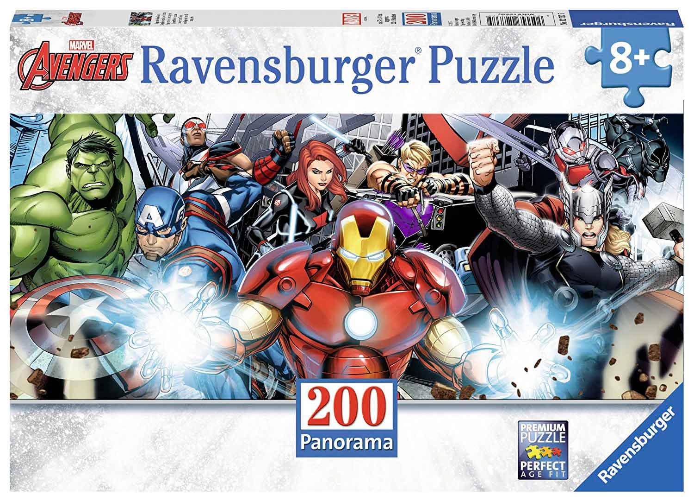 Puzzle Ravensburger Vengadores Panorama de 200 Piezas