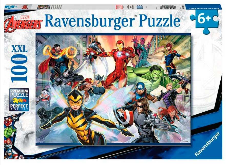 Puzzle Ravensburger Vengadores XXL de 100 Piezas