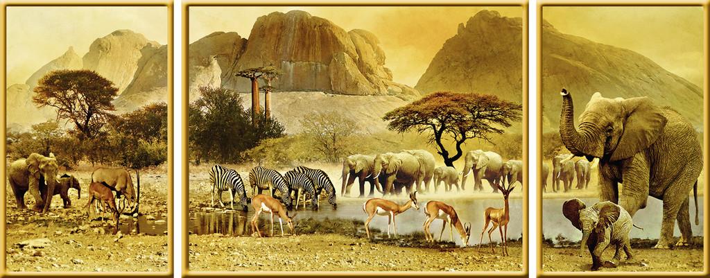 Puzzle Ravensburger Viaje a Africa de 1000 Piezas