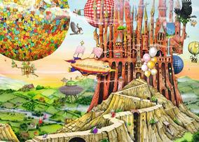 Puzzle Ravensburger Viaje de Regreso a Casa de 1000 Piezas
