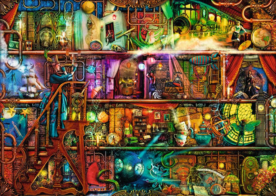 Puzzle Ravensburger Viaje Fantástico de 1000 Piezas