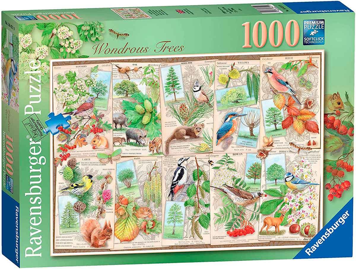 Puzzle Ravensburger Árboles Maravillosos 1000 Piezas