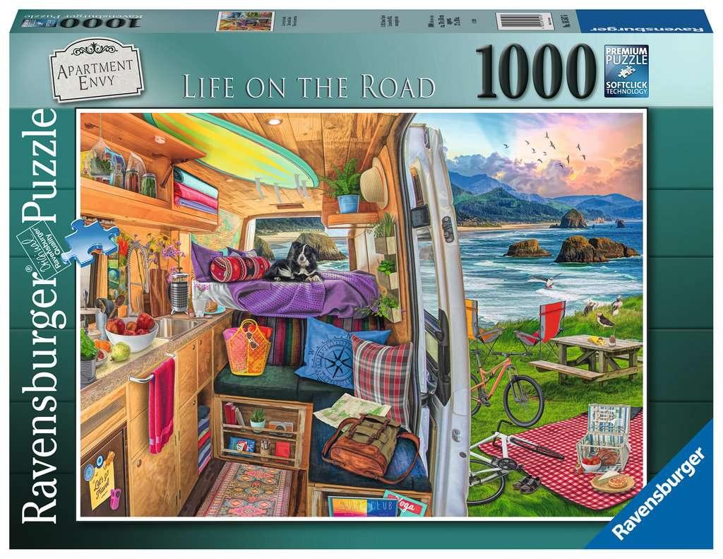 Puzzle Ravensburger Vida en la Carretera 1000 Piezas