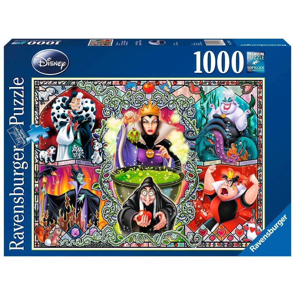 Puzzle Ravensburger Villanas Disney de 1000 Piezas