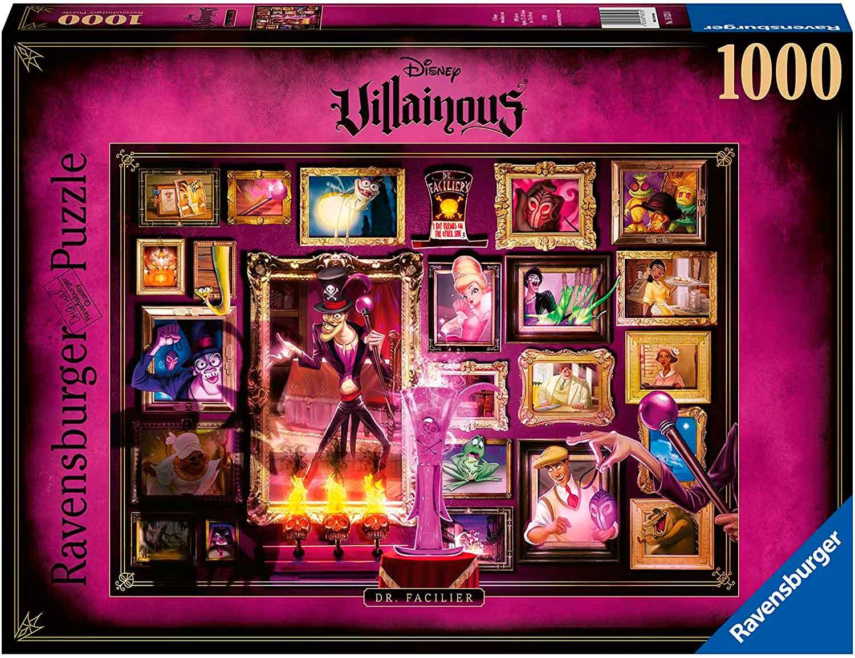 Puzzle Ravensburger Villanos Disney: Doctor Facilier de 1000 Pzs