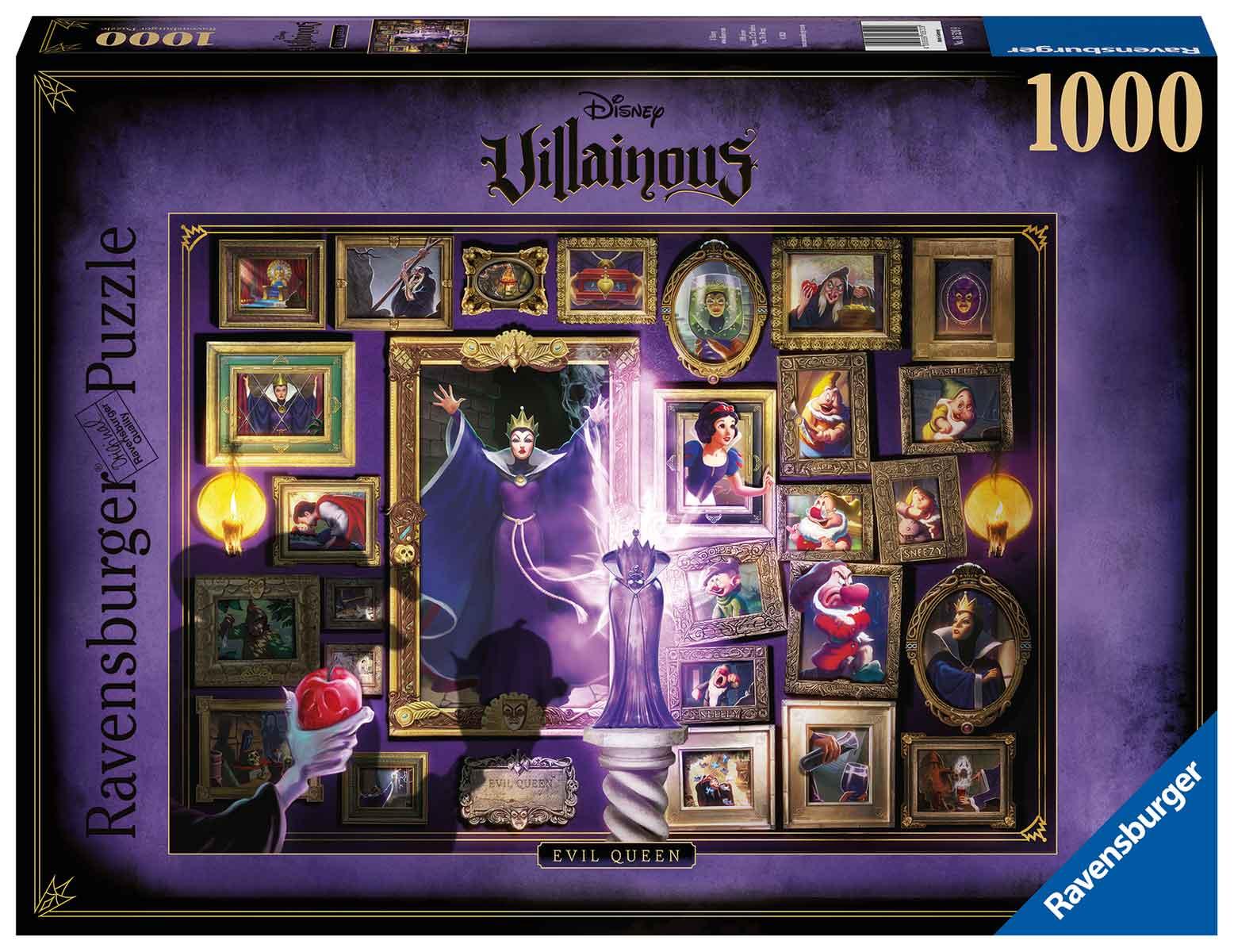 Puzzle Ravensburger Villanos Disney: Evil Queen de 1000 Piezas